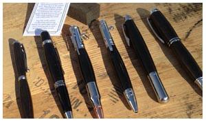 Bog Oak Pens